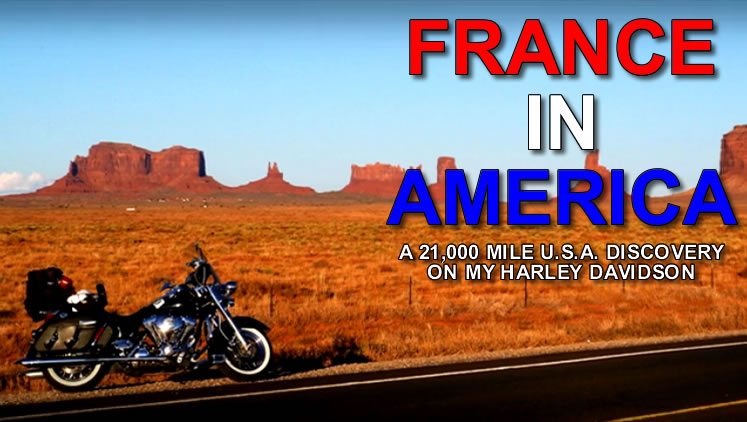 France in America – Behind the scenes of the epic 21,000 mile journey..